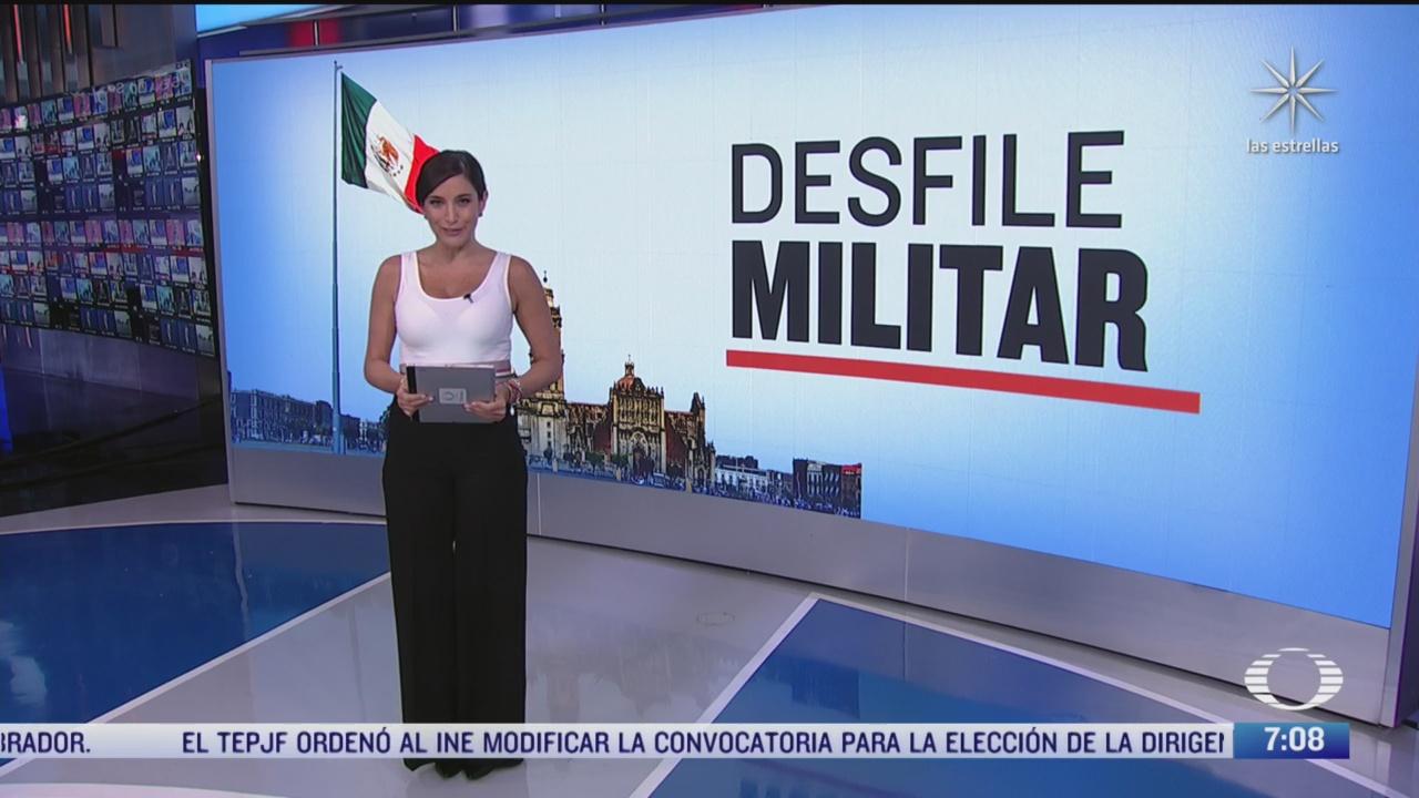 como sera el desfile militar este 16 de septiembre
