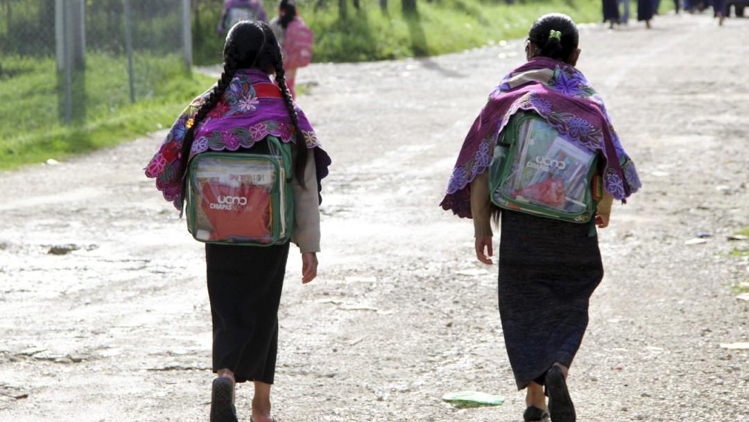 Comunidades indígenas de Chiapas acuerdan regresar a clases presenciales