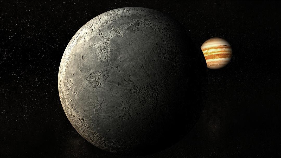 La conjunción de Saturno, Júpiter y la Luna será la más cercana desde 1623. ¿Cuándo y cómo verla?
