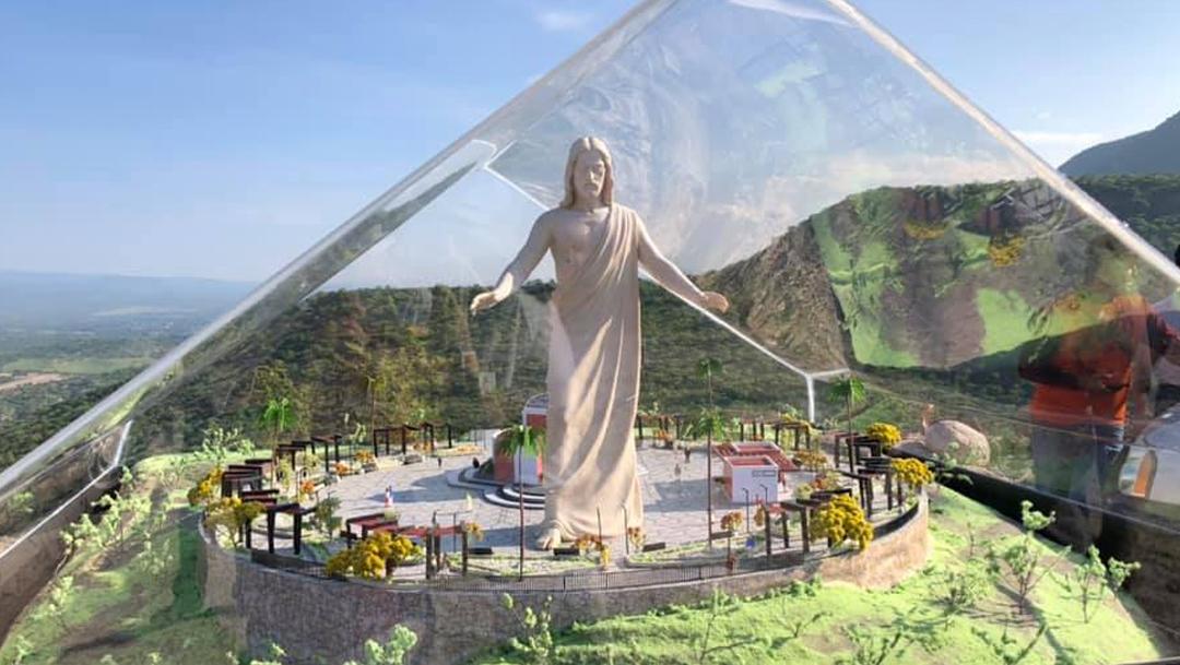El Cristo más grande de México estará en Tabasco, Zacatecas