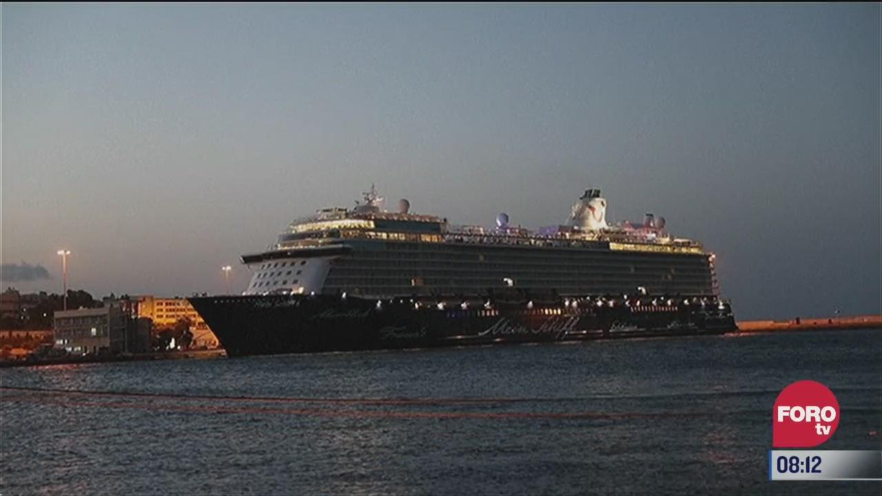 detectan casos de covid 19 en crucero de grecia