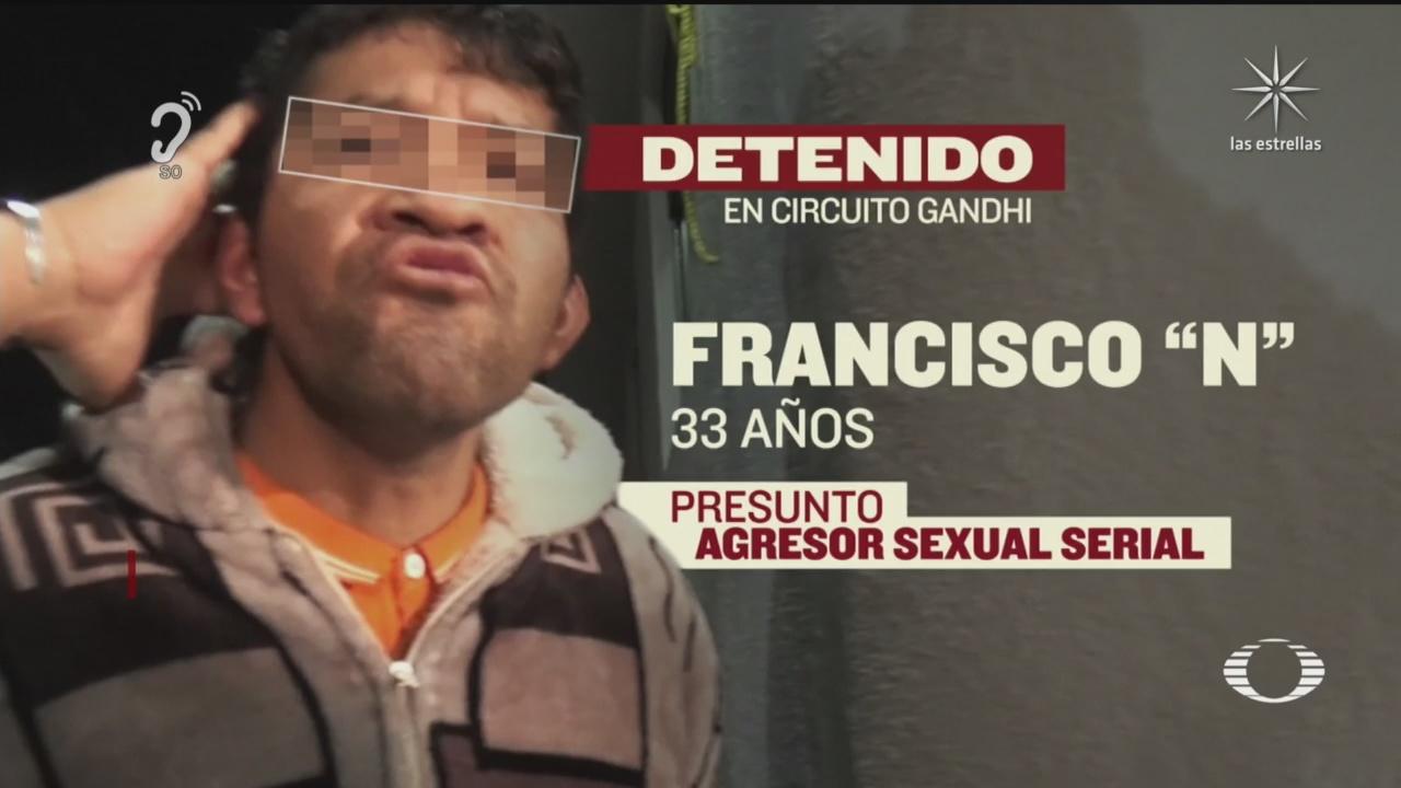 violador serial que operaba en alcaldia miguel hidalgo es detenido por policías
