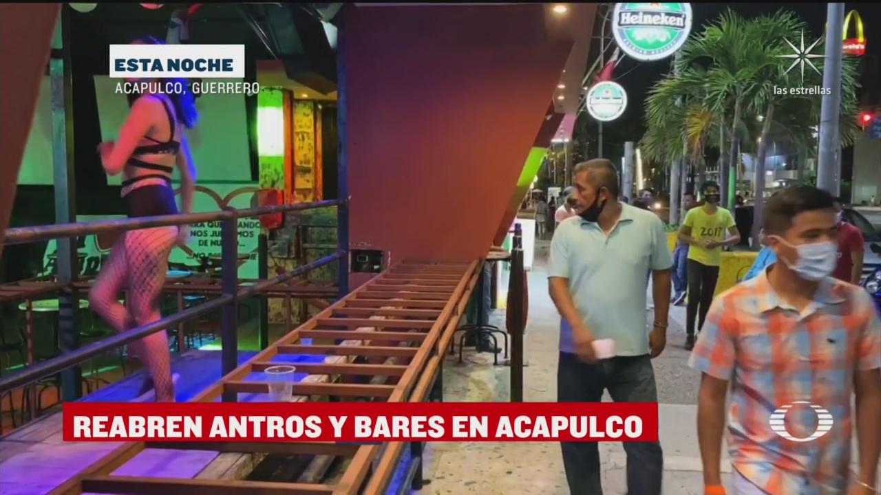 discotecas y bares de acapulco reabren al publico tras seis meses de pandemia