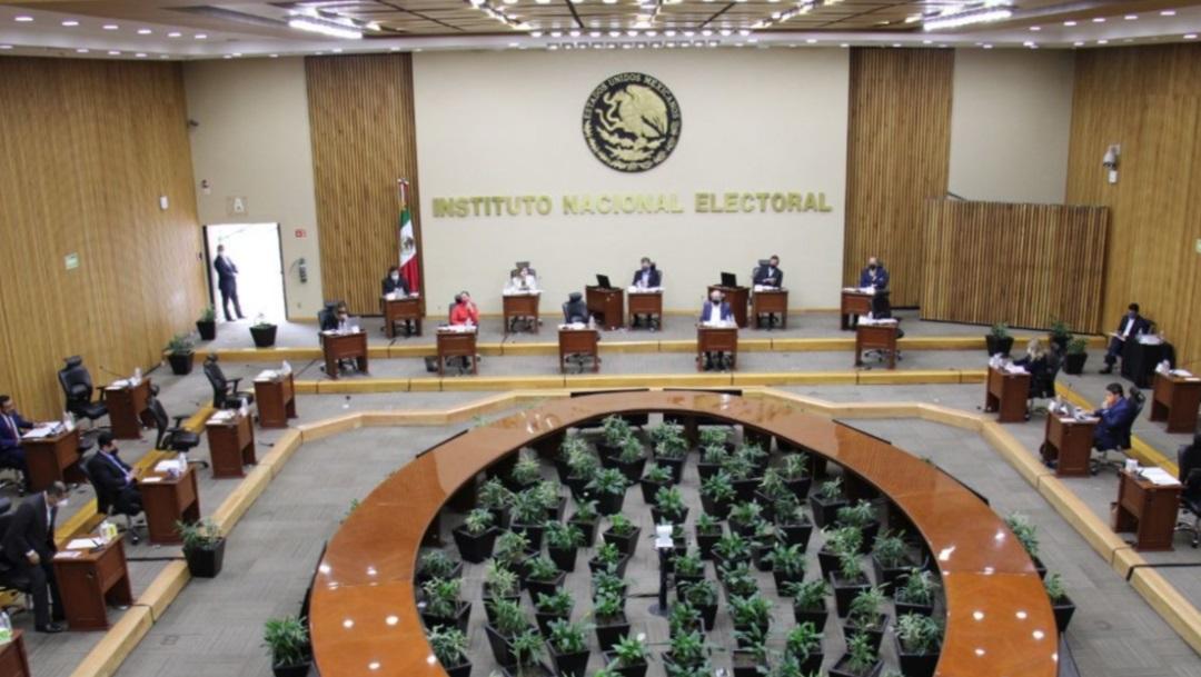 Edificio del INE en la Ciudad de México