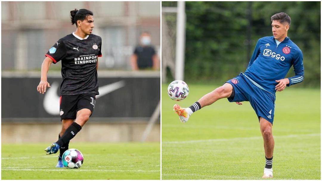 Partidos de Edson Álvarez (Ajax) y Erick Gutiérrez (PSV) en la Jornada 1 en Holanda