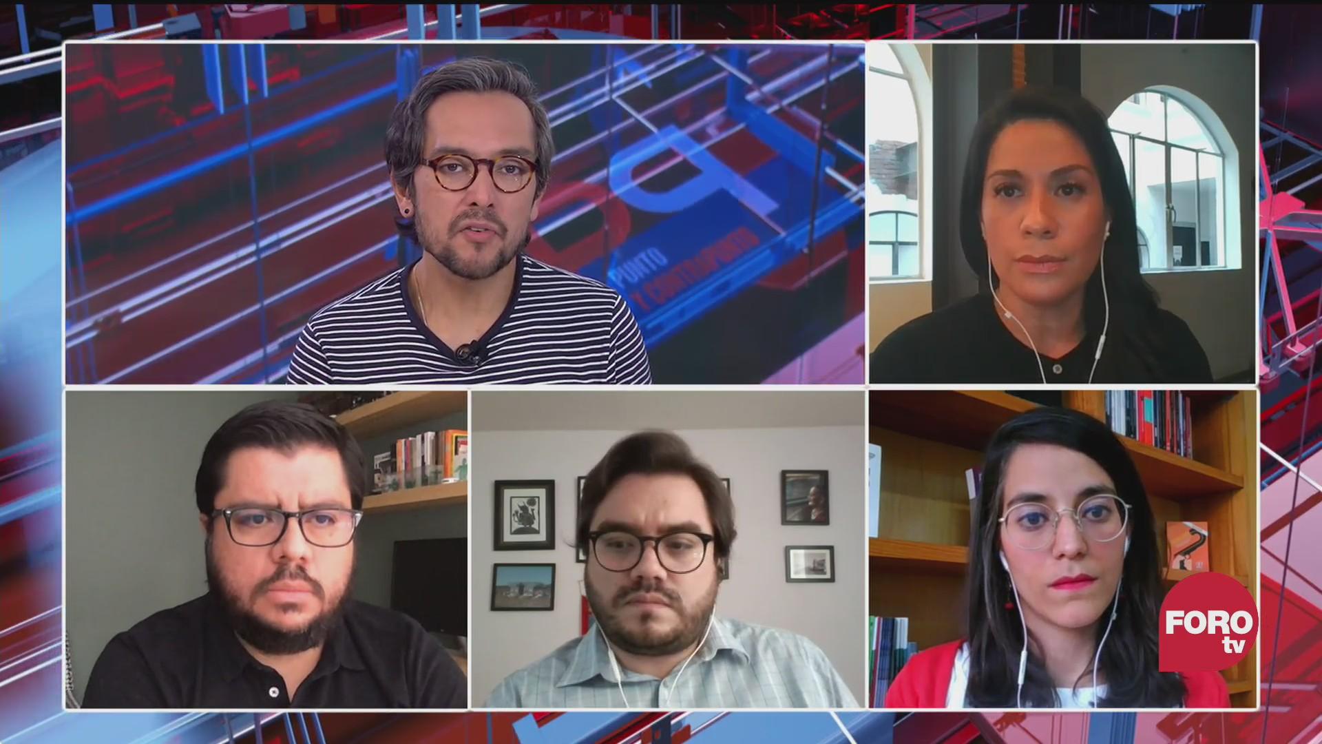 el informe sobre ayotzinapa El análisis en Punto y Contrapunto