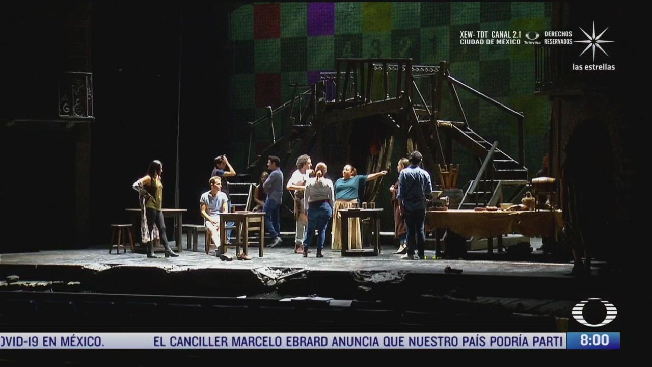 el teatro se prepara para la nueva normalidad en mexico