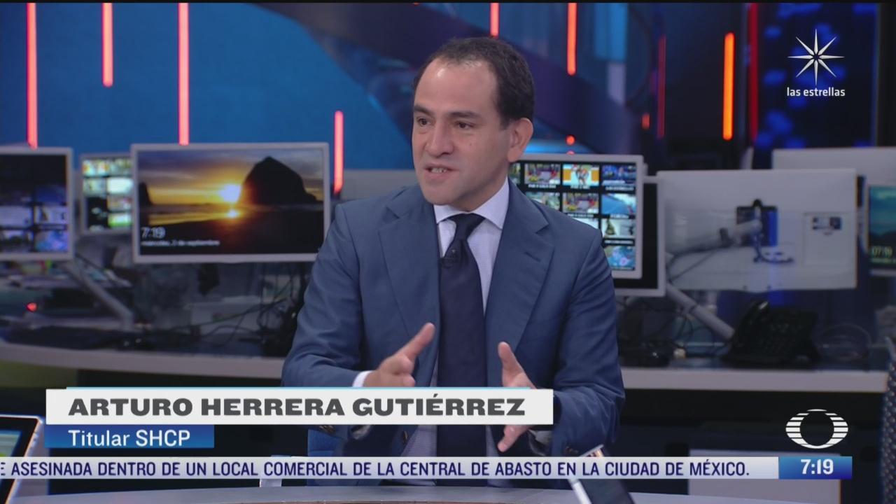 entrevista con arturo herrera secretario de hacienda y credito publico para despierta