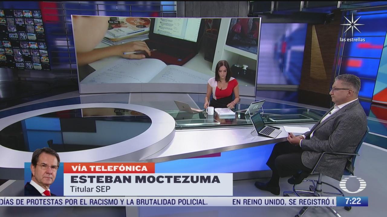 entrevista con esteban moctezuma secretario de educacion publica para despierta 7 septiembre