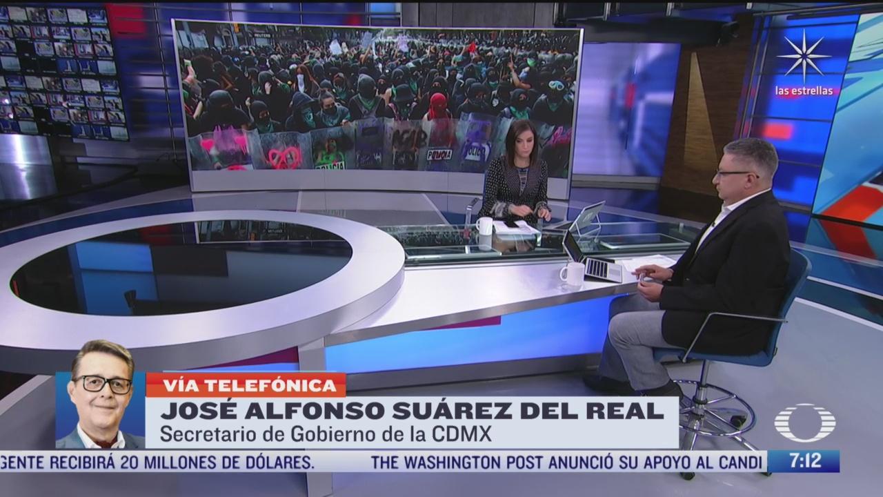 entrevista con jose alfonso suarez del real secretario de gobierno de la cdmx para despierta