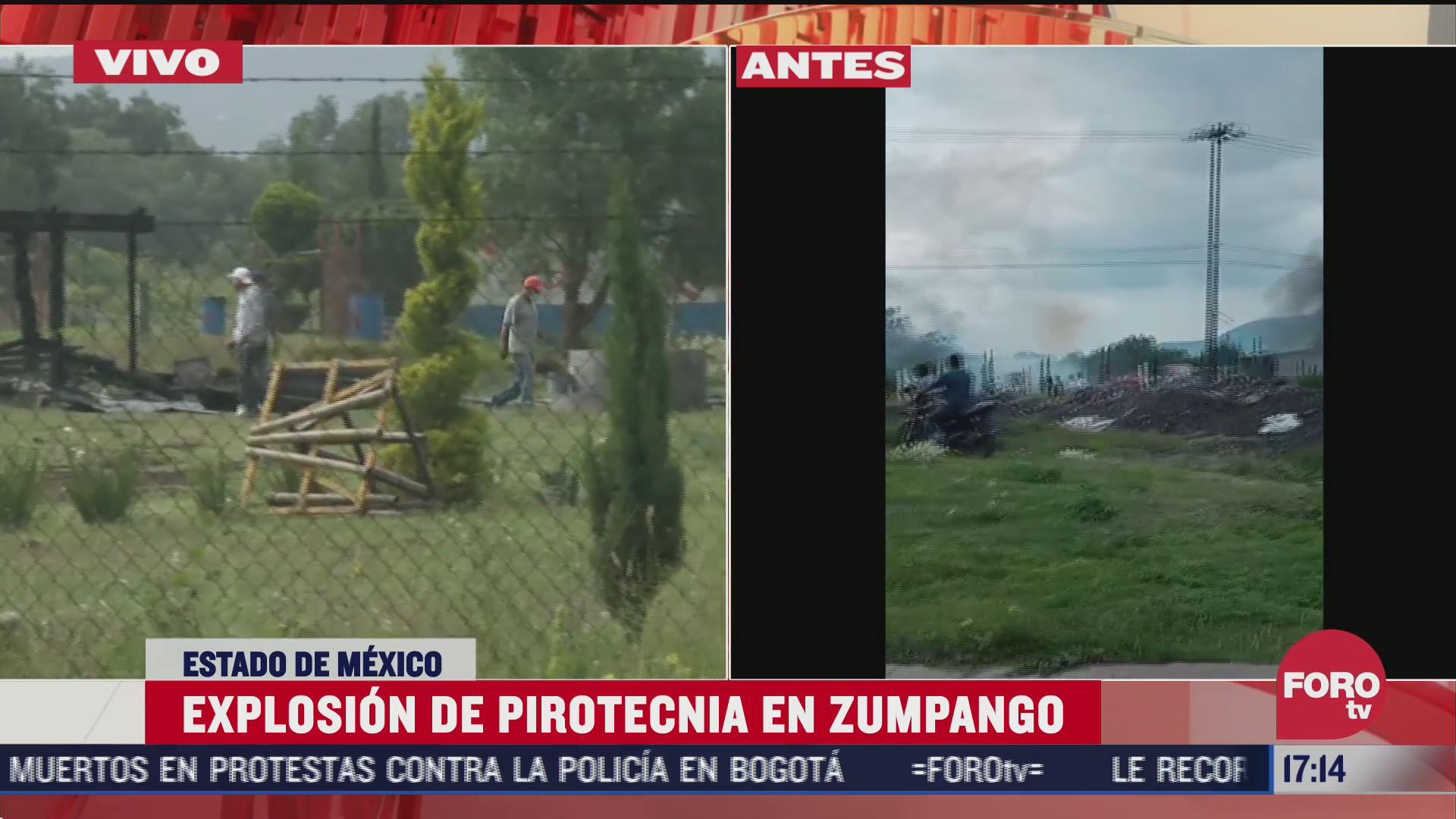 explosion de polvorin deja varios heridos en zumpango