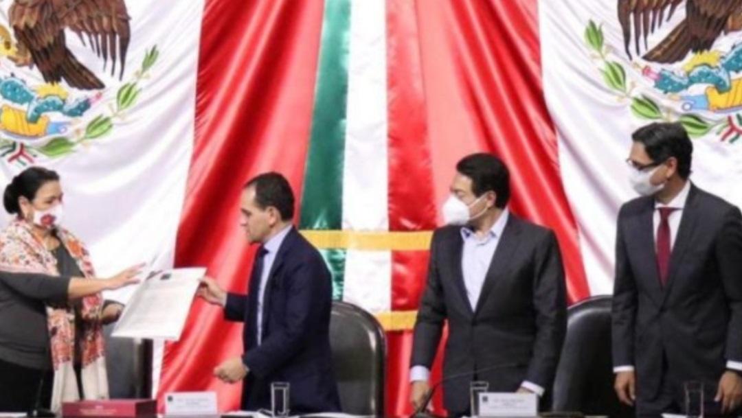 Mario Delgado Cámara de Diputados entrega Paquete Económico 2021
