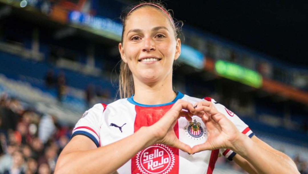 Janelly Farias jugadora de Chivas