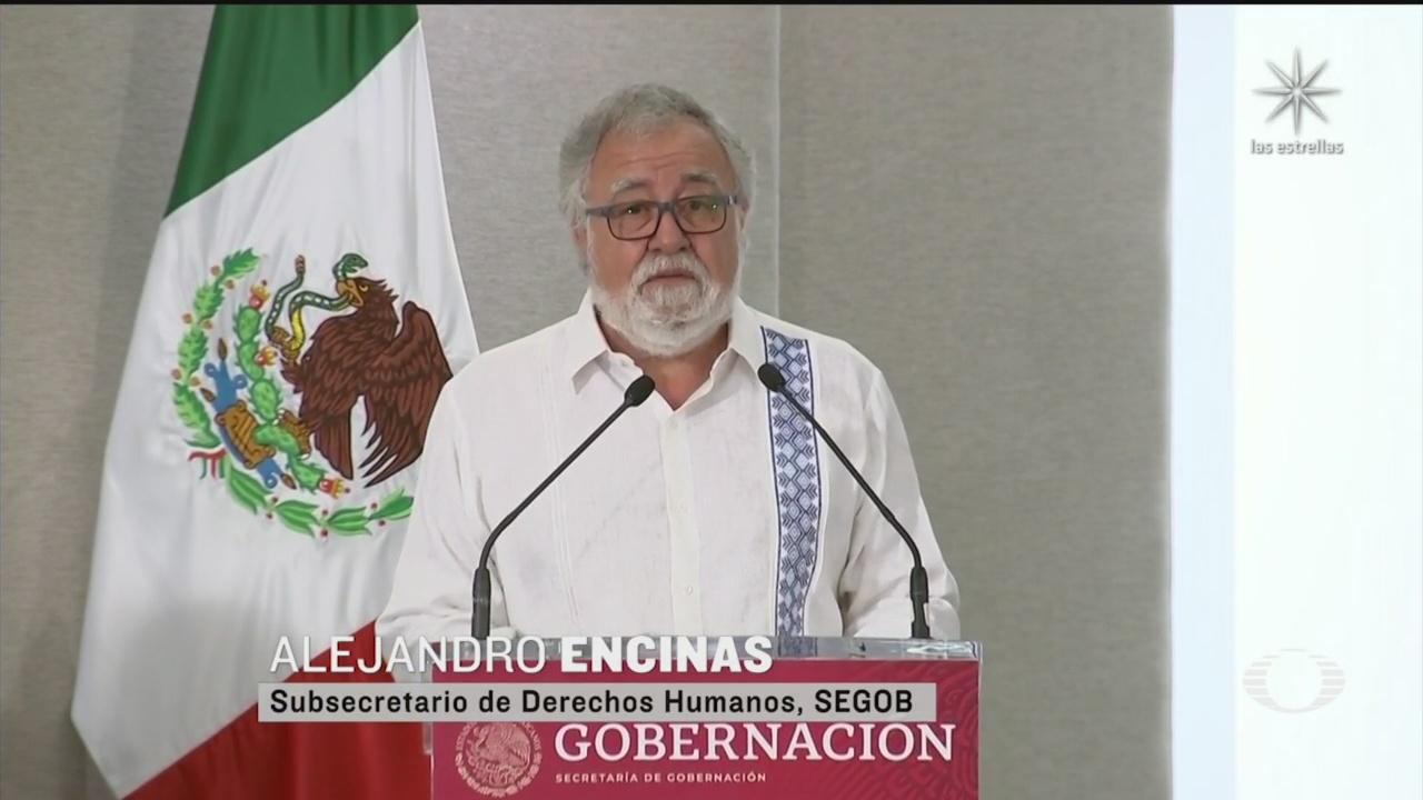 Alejandro encimas de la CNDH ofrecio a nombre del gobierno federal ofrece disculpa publica por la matanza de acteal