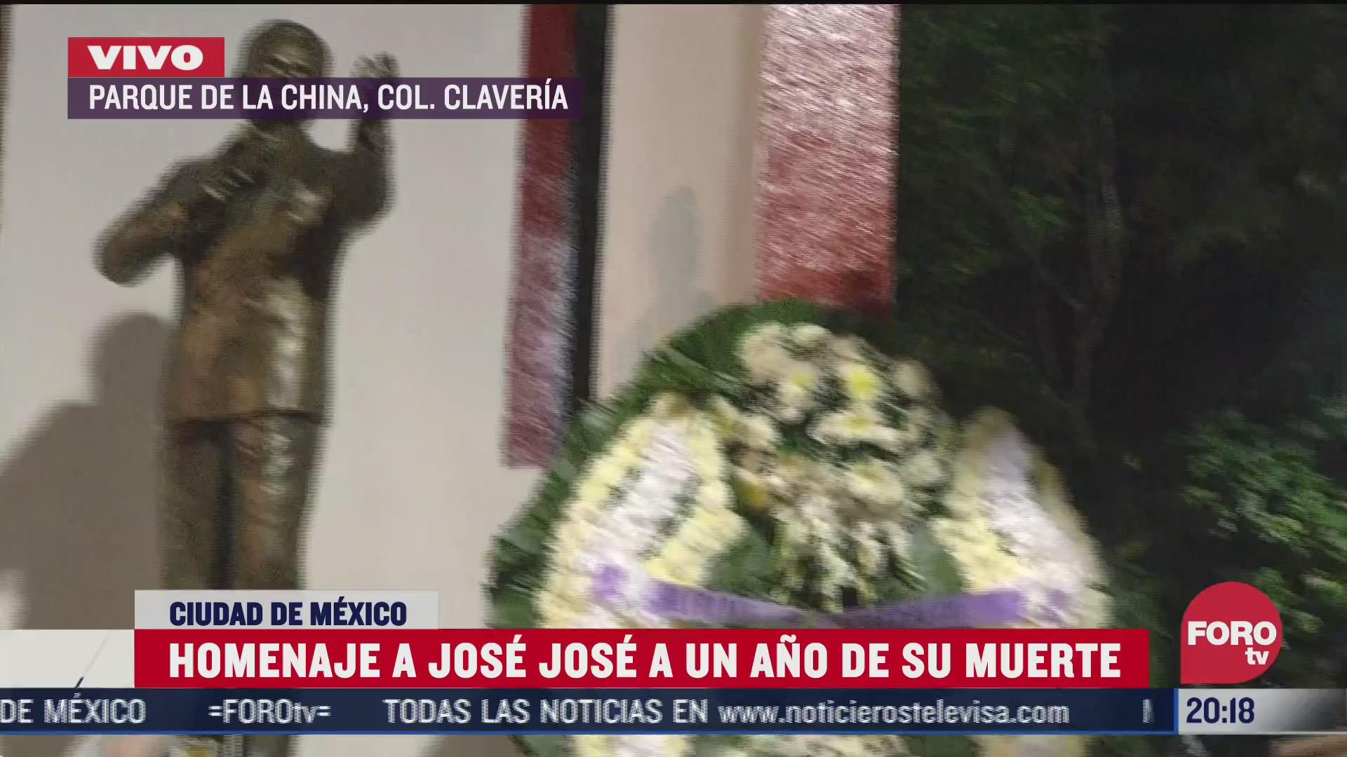 homenaje a jose jose a un ano de su muerte
