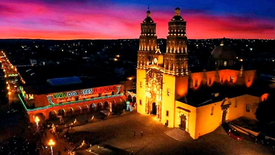 Parroquia de Dolores Hidalgo, escenario del inicio de la lucha de la Independencia