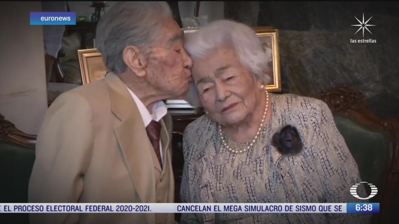julio y waldramina el matrimonio mas longevo