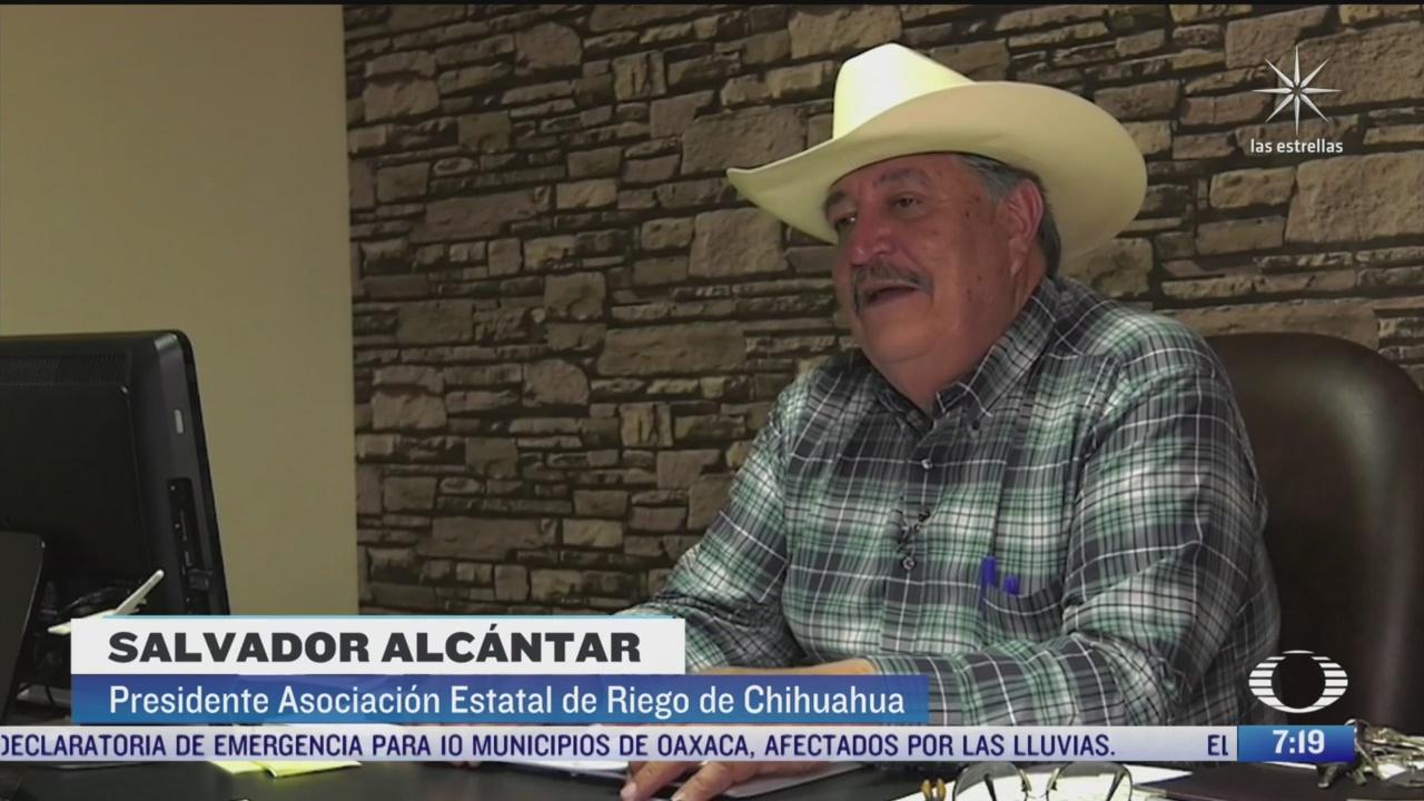 la uif congela cuentas al presidente de la asociacion estatal de usuarios de riego en chihuahua