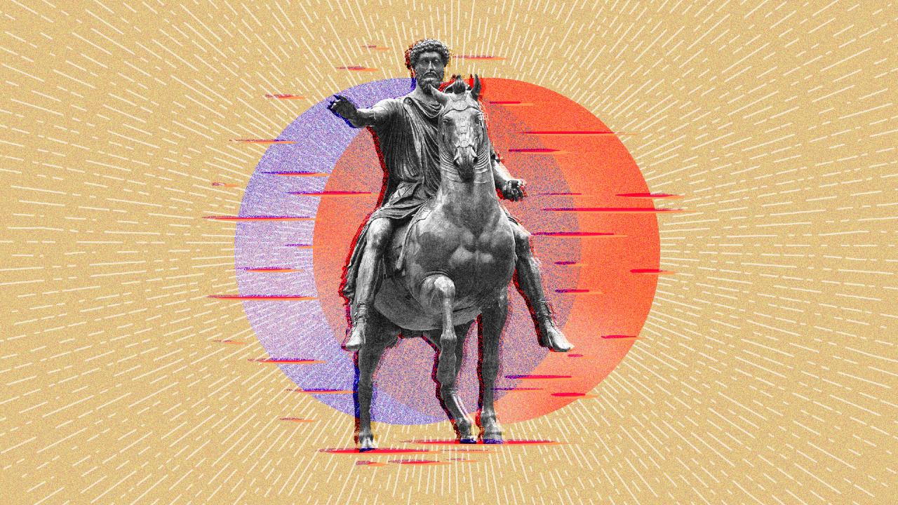 Marco Aurelio, escultura, estoicismo, imagen ilustrativa