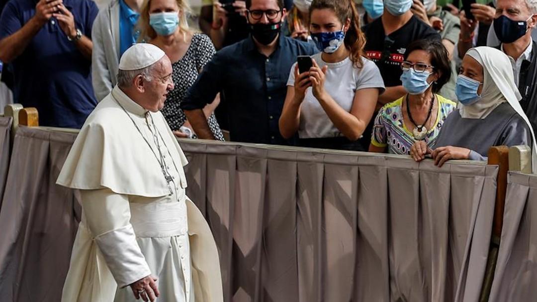 El papa Francisco retoma contacto con fieles tras seis meses debido a la pandemia por coronavirus