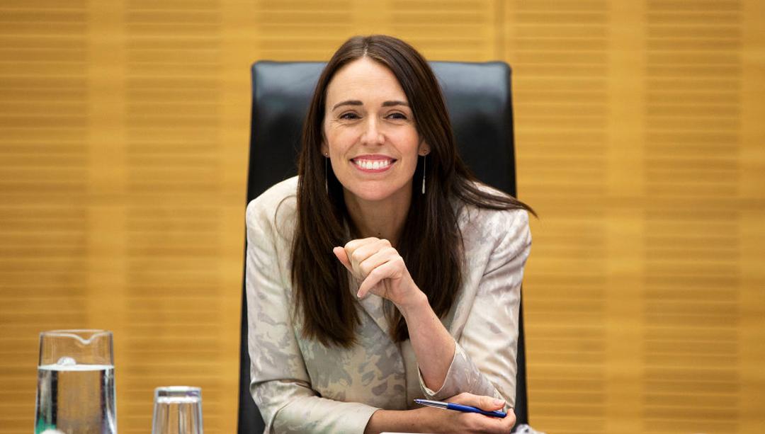 Jacinda Ardern, Primer Ministra de Nueva Zelanda, dio su informe de gobierno en dos minutos en 2019
