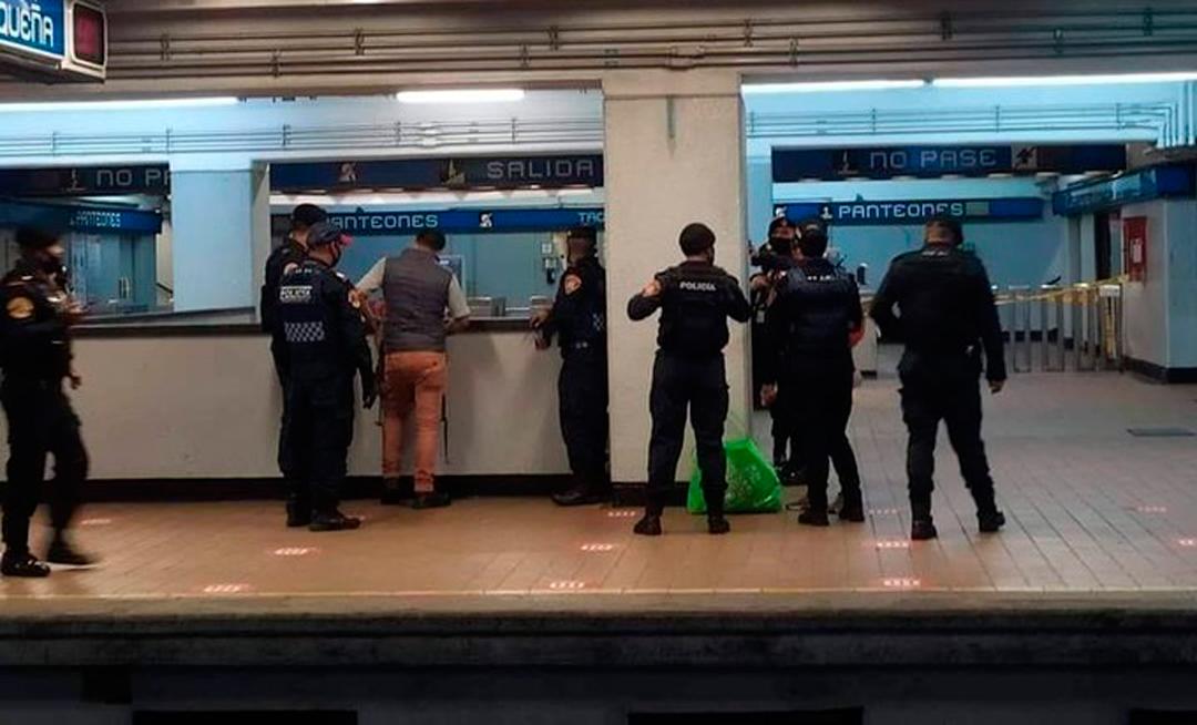 ¿Es posible detener a una persona en el Metro de la CDMX por entregas o intercambio?
