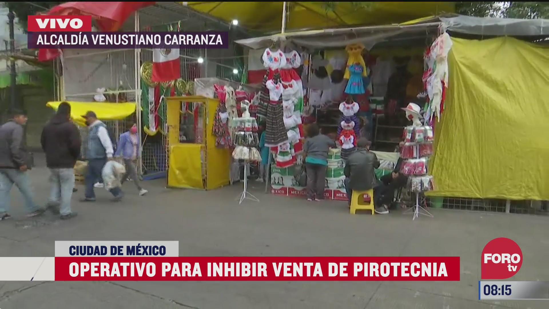 realizaran operativo cometa para inhibir venta de pirotecnia en fiestas patrias en cdmx