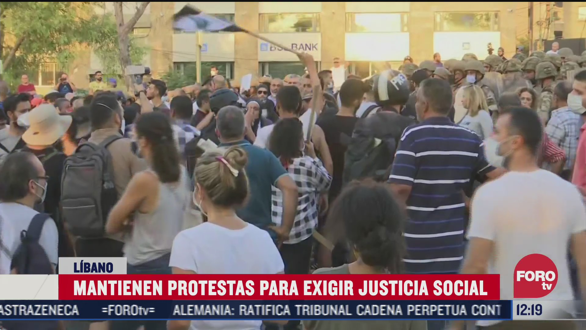 siguen protestas en libano contra el gobierno