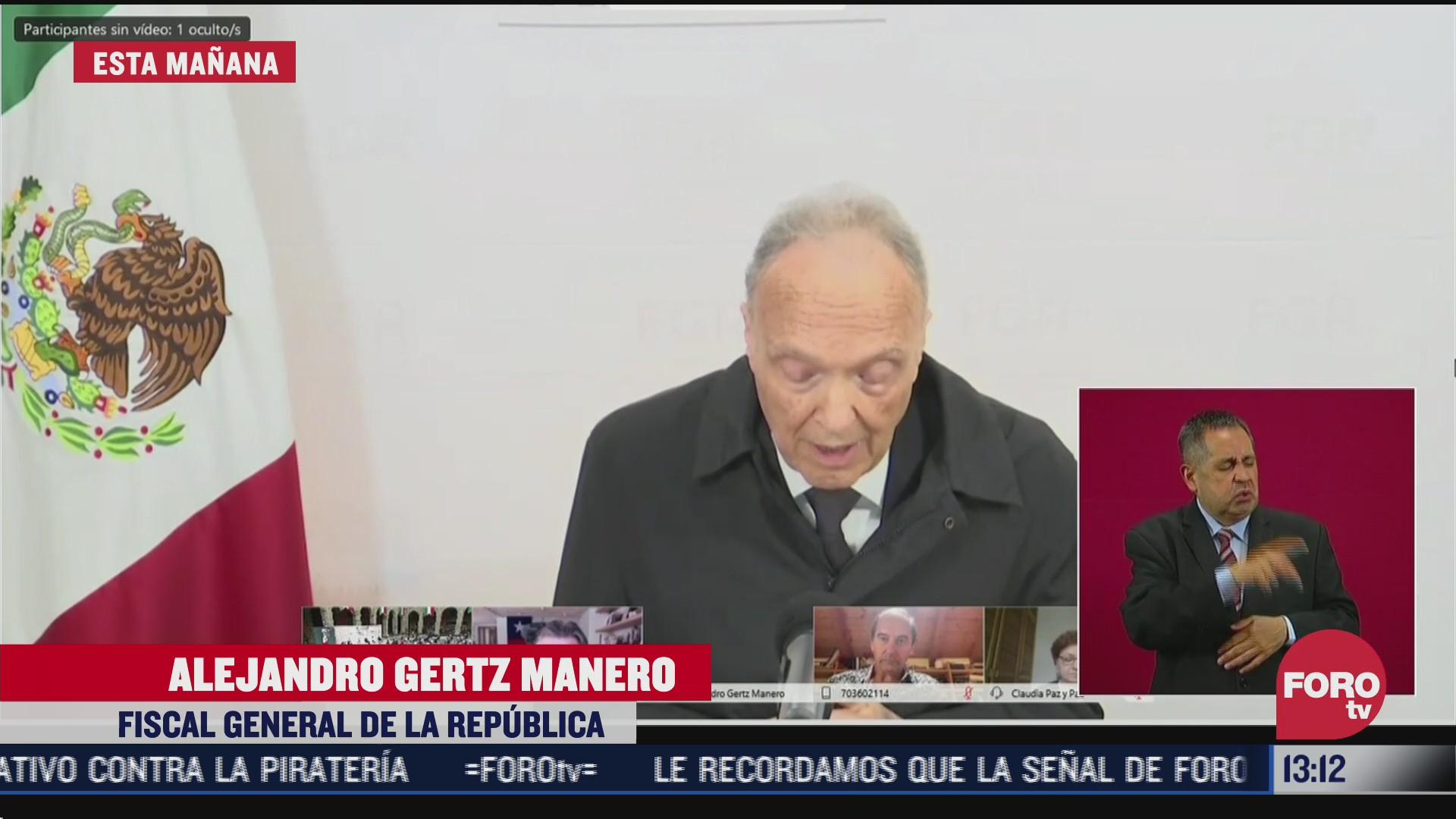 tomas zeron robo millones por caso ayotzinapa gertz