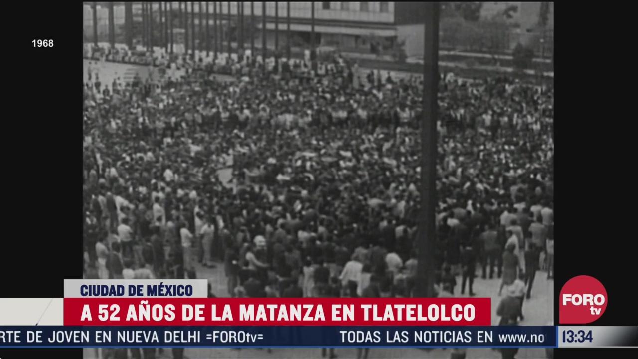 a 52 anos de la matanza en tlatelolco