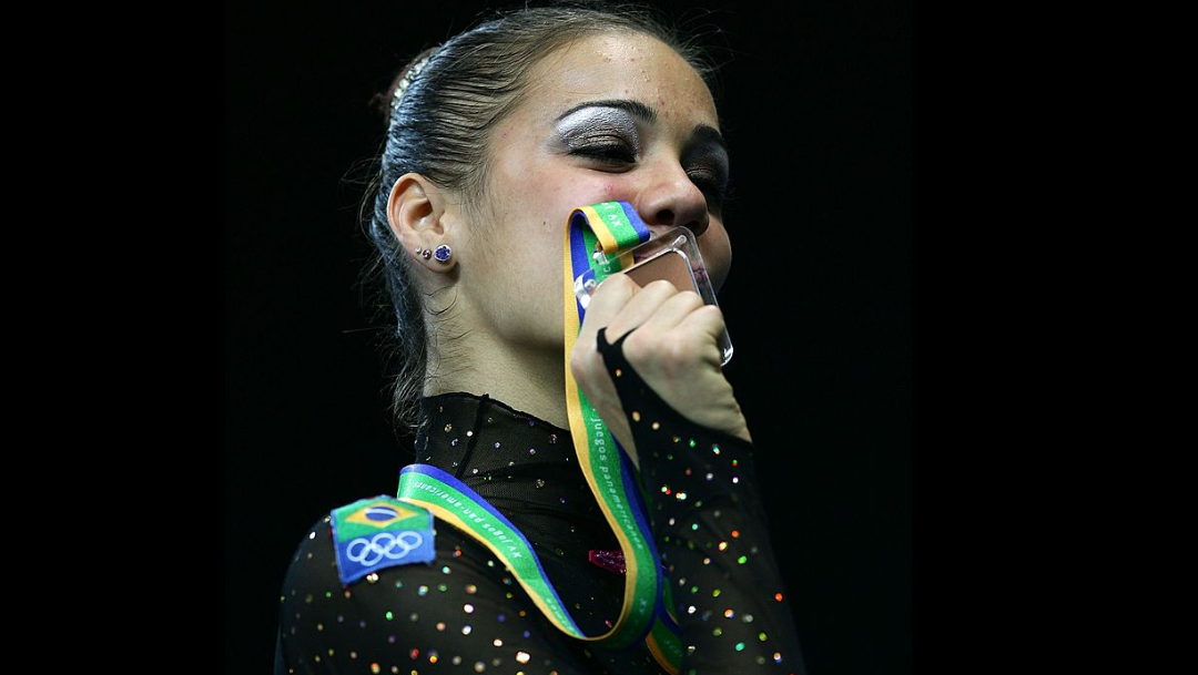 Ana Paula Scheffer, exgimnasta brasileñav