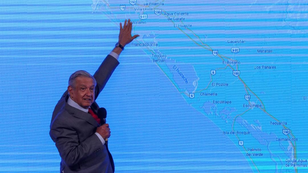 Conferencia de prensa matutina encabezada por el presidente Andrés Manuel López Obrador. (Foto Cuartoscuro)