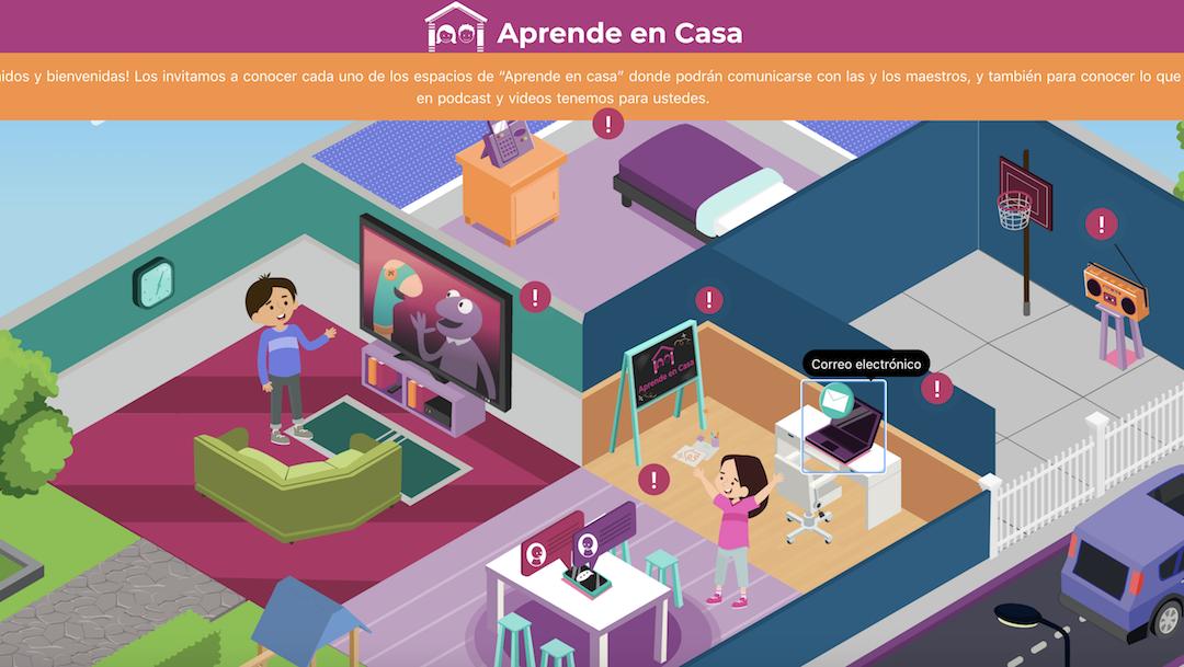 Plataforma Aprende Casa II Imagen