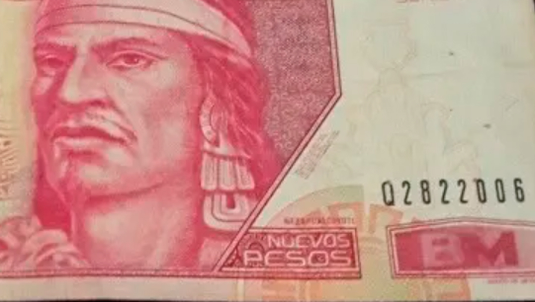 Billete de 100 nuevos pesos con Nezahualcóyotl se vende en 900 pesos en internet