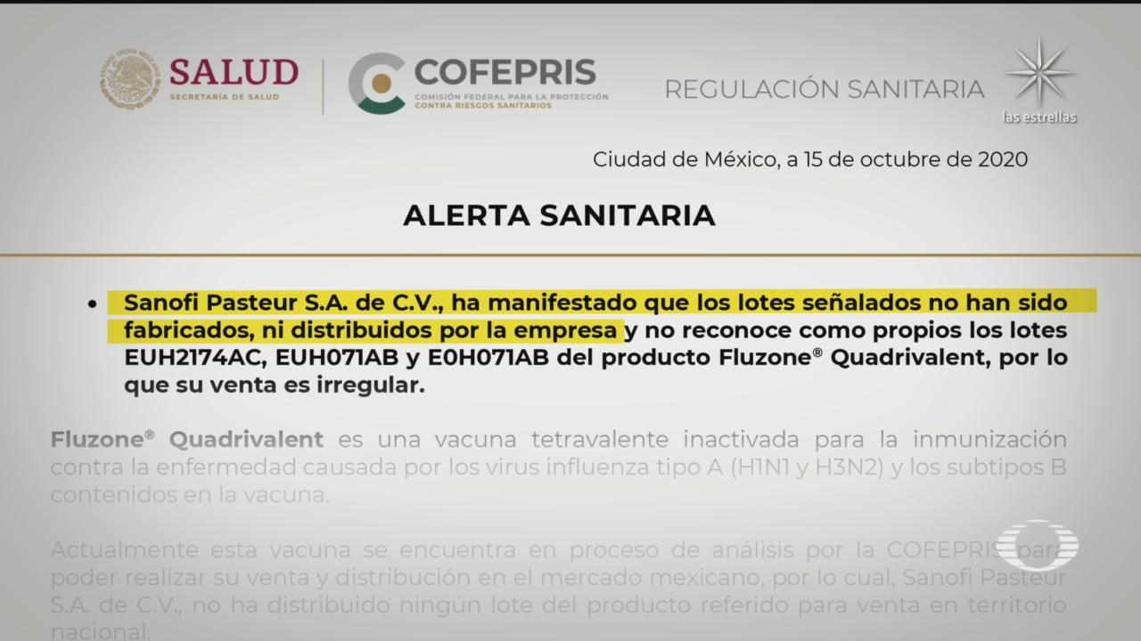 Cofepris emitió alertas por vacunas de influenza falsas