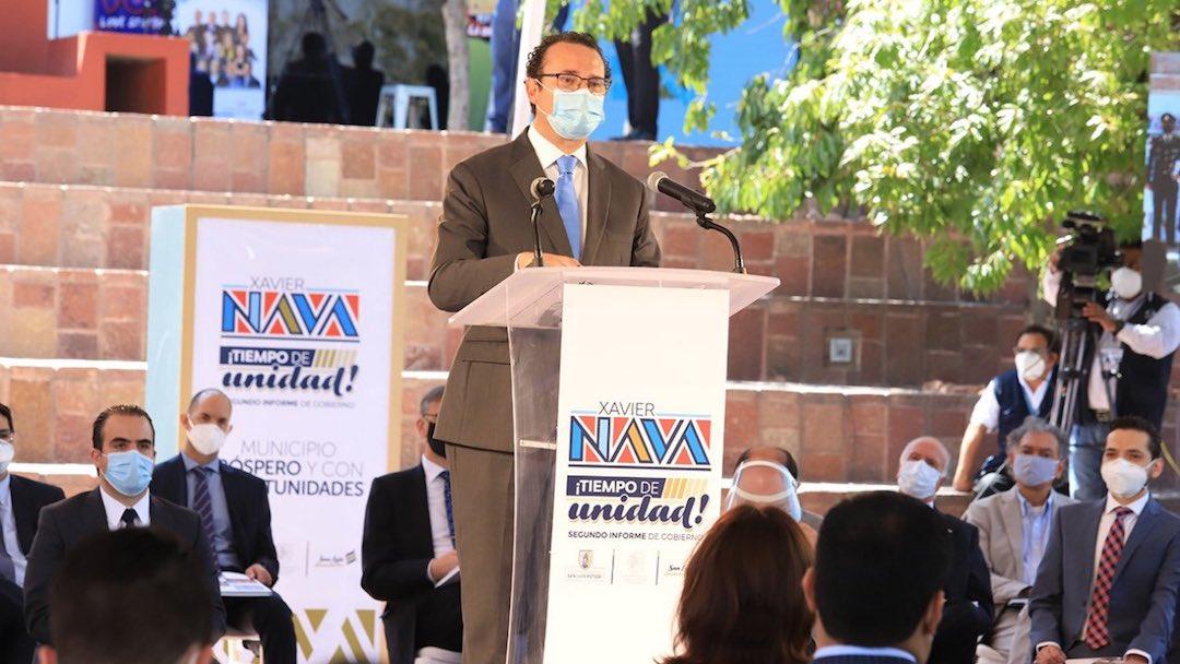 Xavier Nava San Luis Potosí