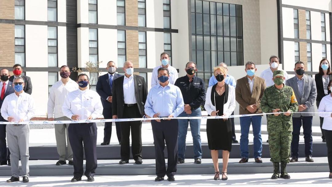 Inauguran complejo regional de seguridad pública en Reynosa