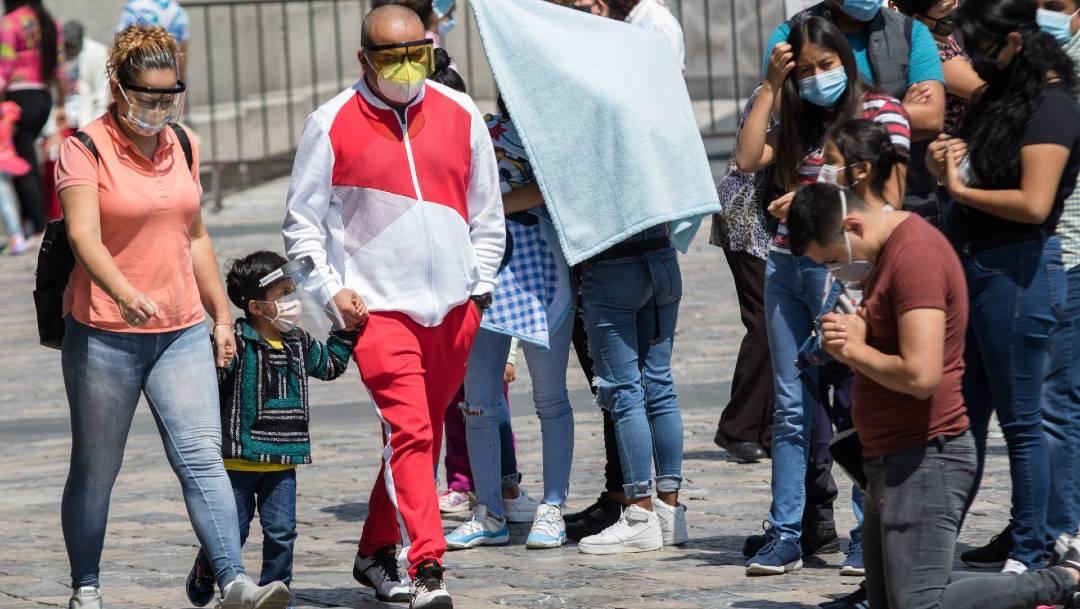 La Secretaría de Salud informó que México llegó a las 83 mil 781 muertes por coronavirus con 817 mil casos confirmados