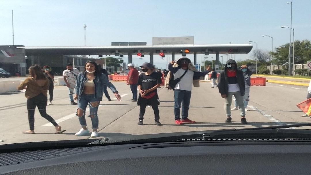 Detienen a 78 personas por toma de casetas en Alpuyeca, Morelos