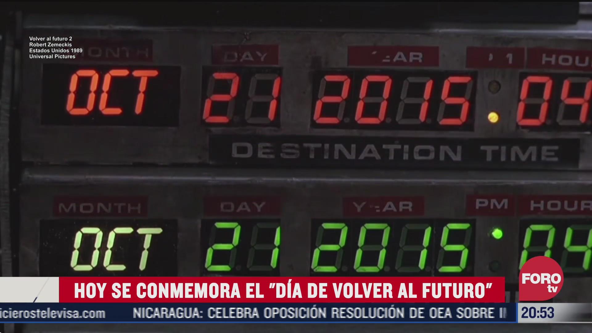 dia de volver al futuro