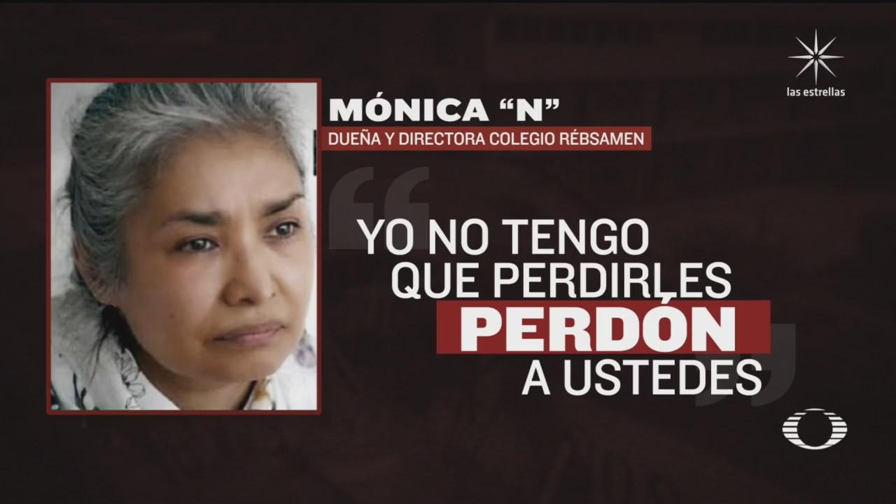 duena del colegio rebsamen es sentenciada a 31 anos de prision