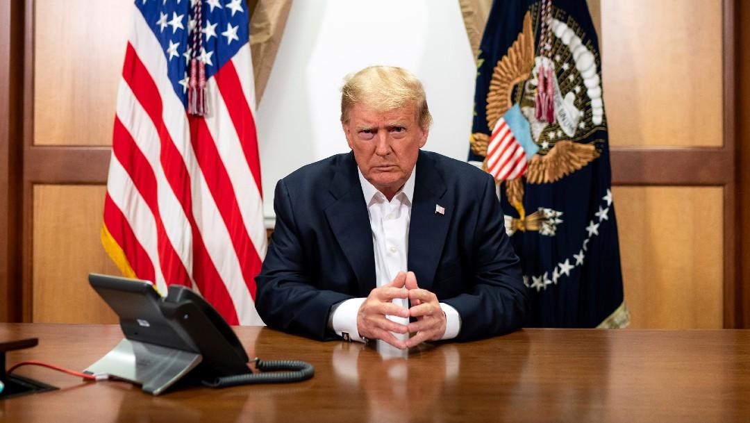 El presidente Donald Trump