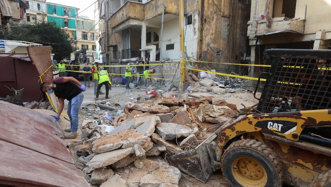 Explosión en restaurante de Beirut deja un muerto y dos heridos