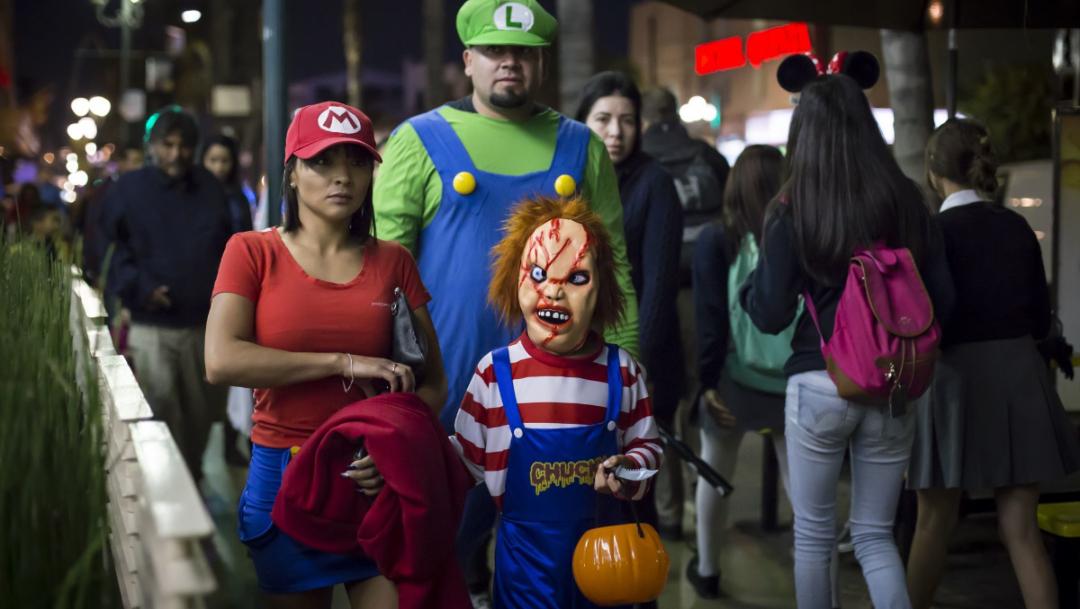 prohiben pedir dulces en halloween nezahualcoyotl