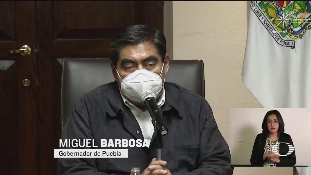 Miguel Barbosa niega que haya 200 patrullas paradas en Puebla