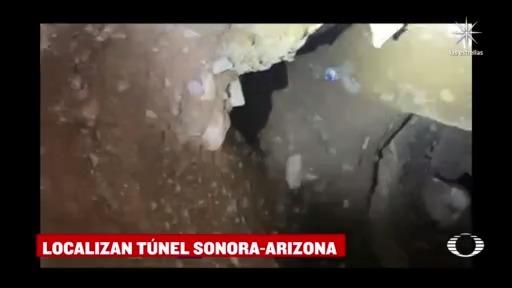 guardia nacional localiza tunel con salida a nogales sonora