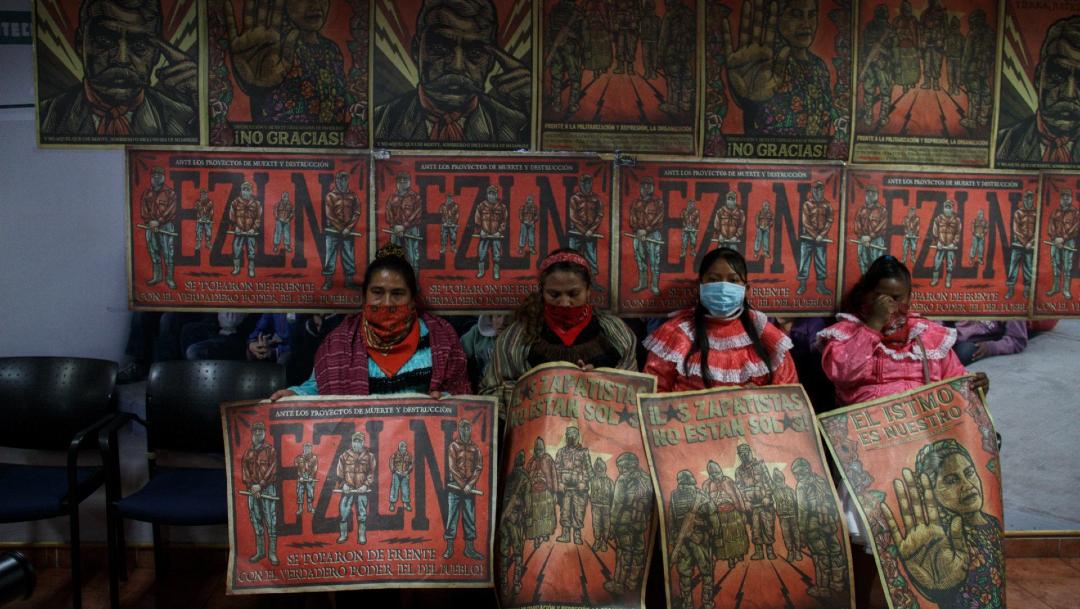 Indígenas otomís que residen en CDMX toman el edificio del INPI