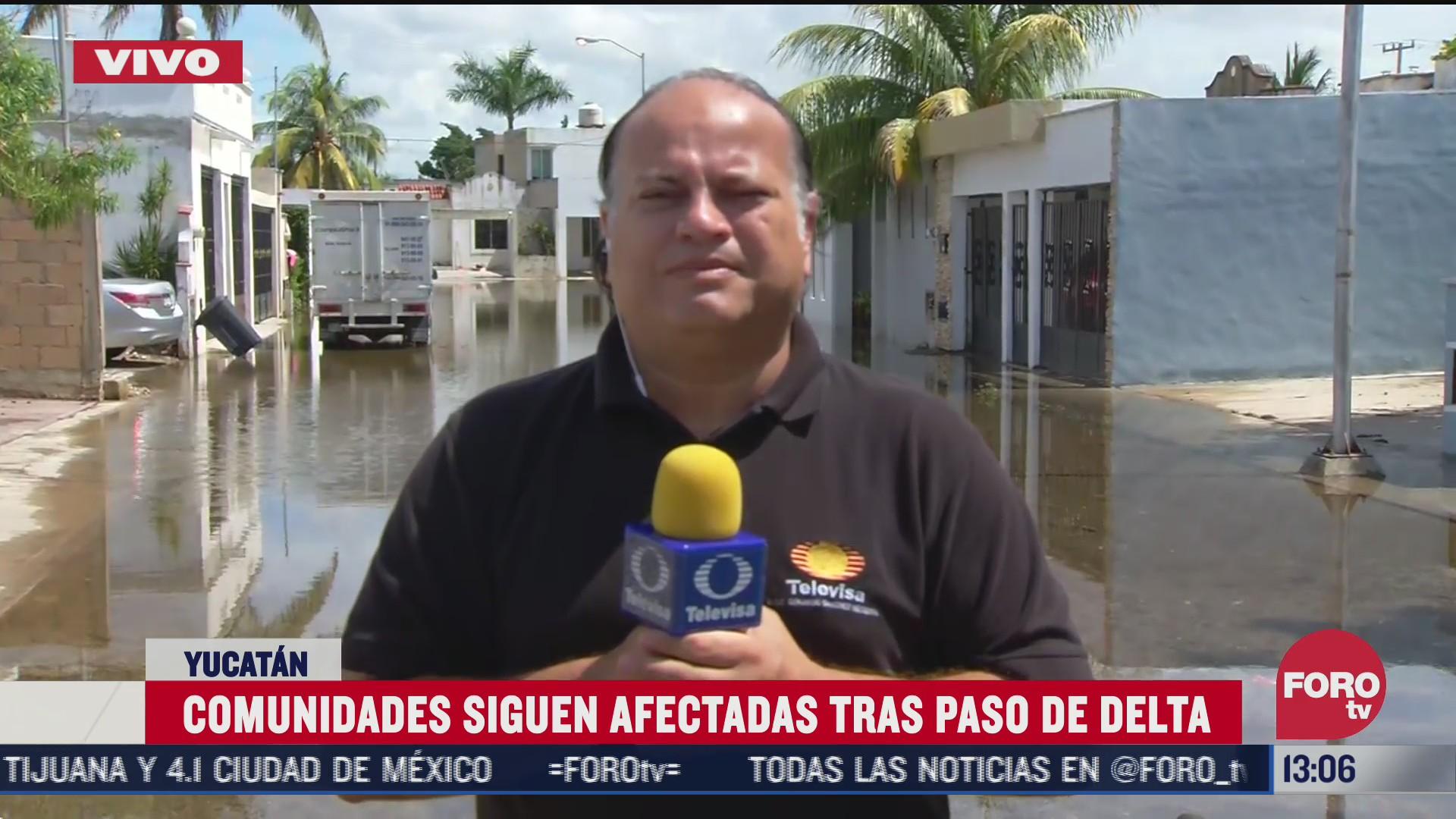 inicia reparacion de viviendas en yucatan tras paso de delta