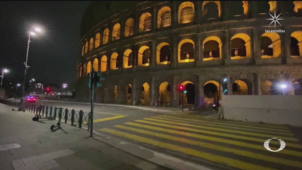la emblematica roma luce vacia