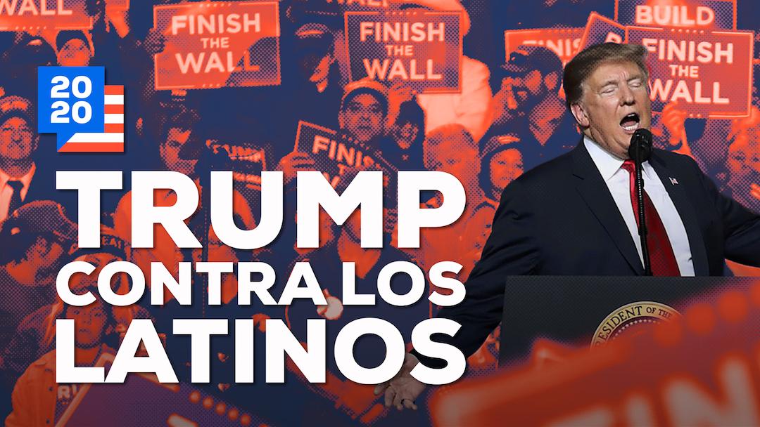 Donald Trump Latinos EUA Imagen